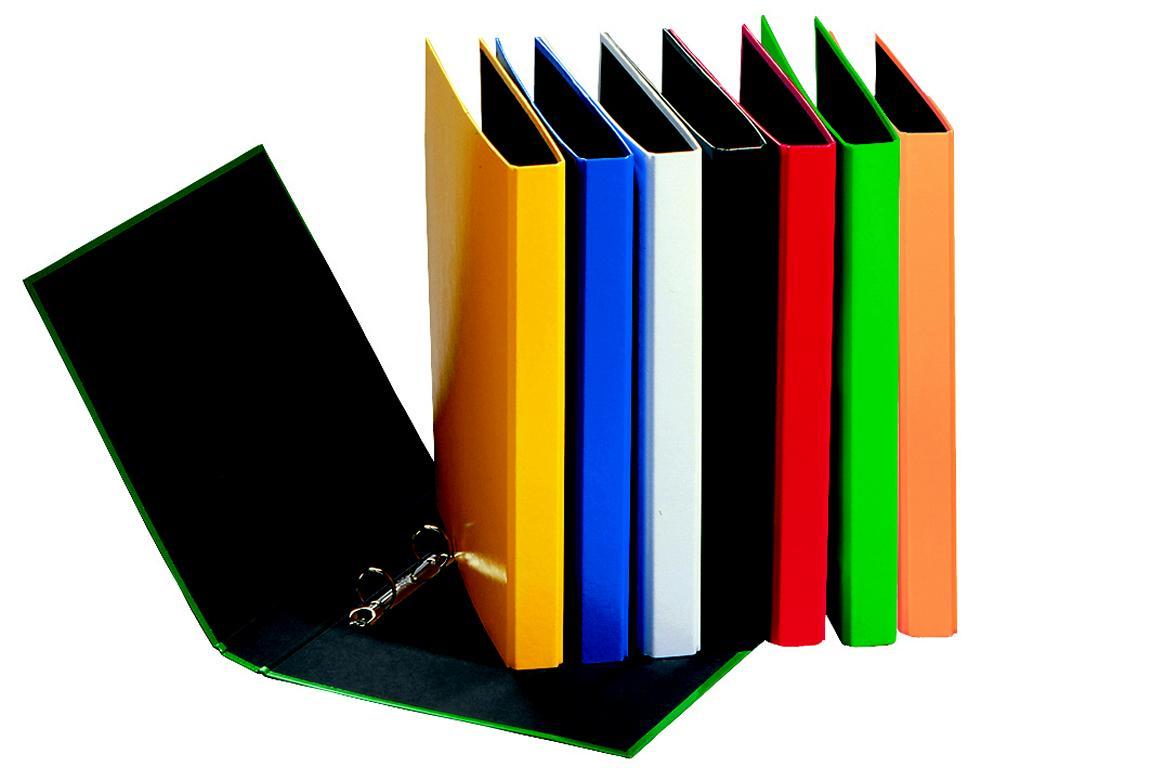 ringbuch din a4 ordner 2 ringmechanik farbe schwarz. Black Bedroom Furniture Sets. Home Design Ideas