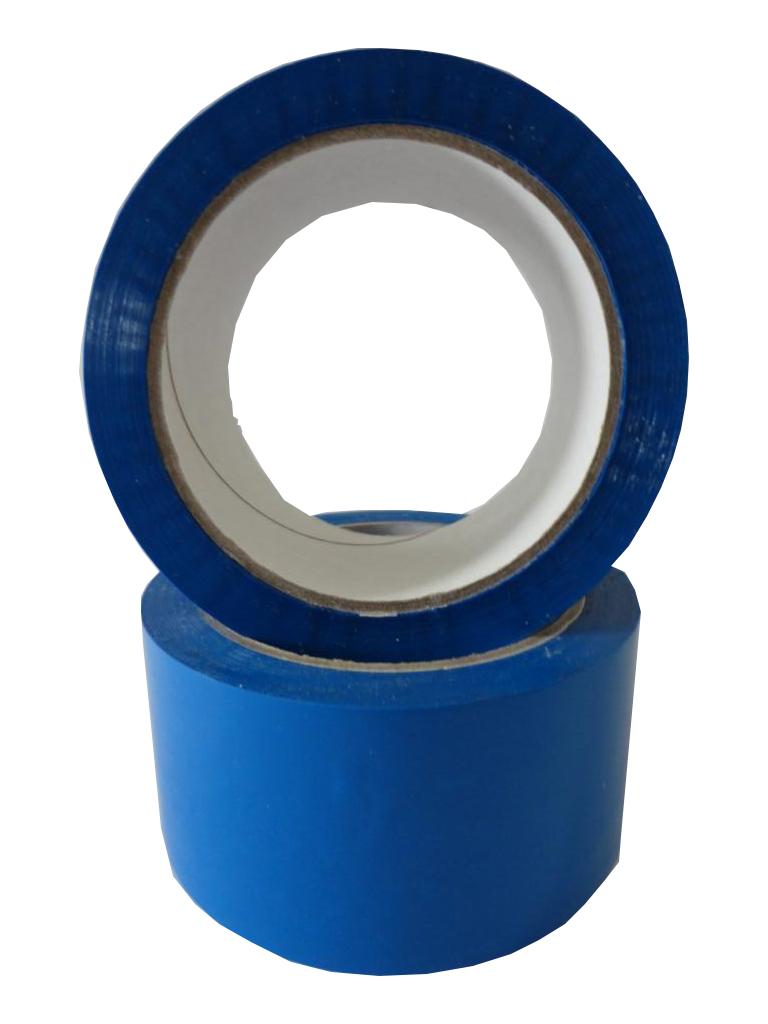 Klebeband Paketband Packband 66m X 50mm leise abrollend blau EUR 0,04 // m