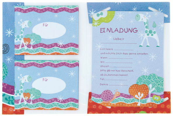 30 kinder geburtstag einladungskarten einladung 3 verschiedene, Einladung