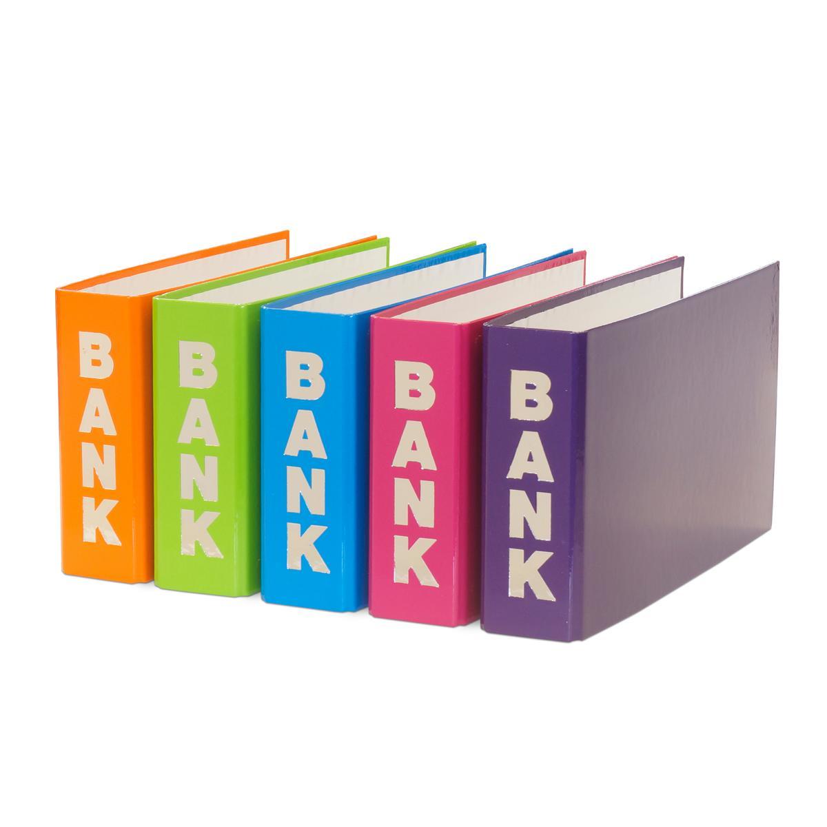 Farbe pink 10x Bankordner für Kontoauszüge 140x250mm