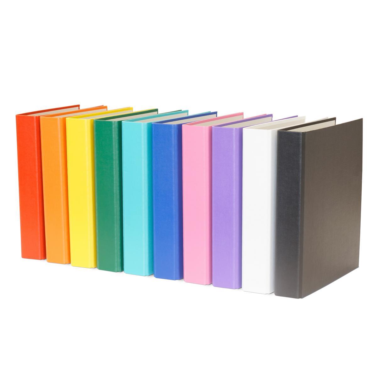 10x Ringbuch Din A5 2 Ring Ordner 10 Verschiedene Farben Ebay