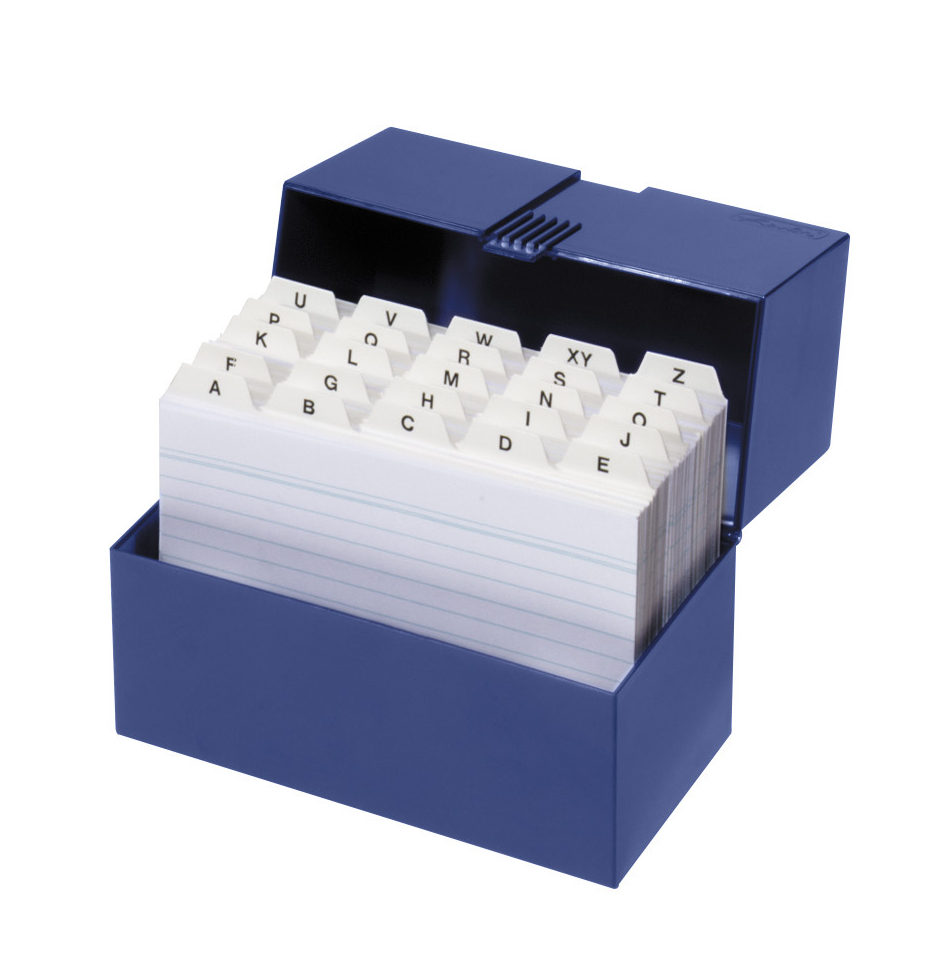 Herlitz Karteikasten Lernbox Din A6 100 Karteikarten