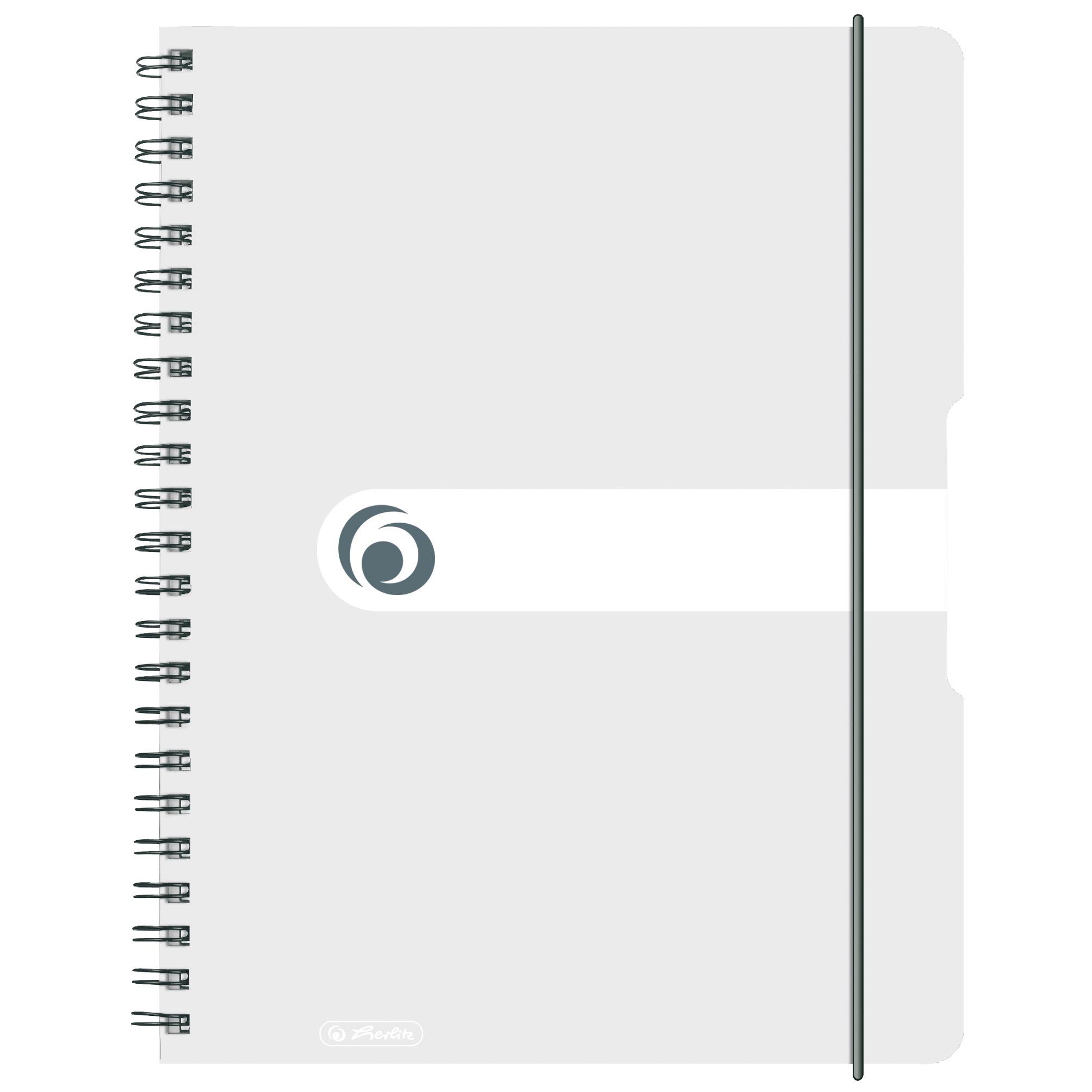 Spiralblock DIN A4 5x Herlitz Collegeblock kariert 80 Blatt