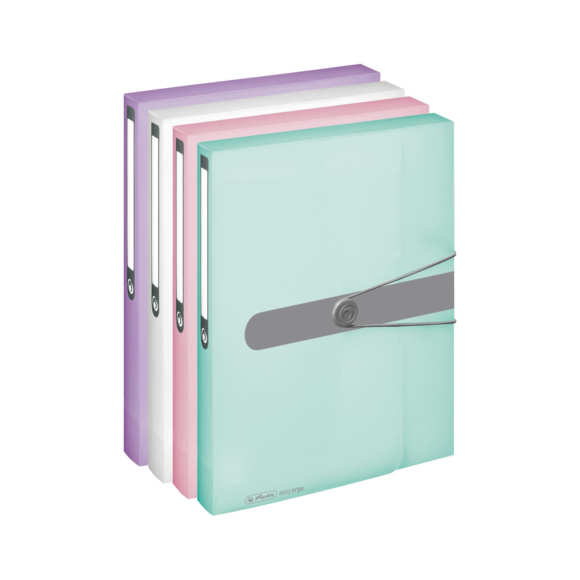 4x Herlitz Sammelbox Heftbox Din A4 4 Verschiedene Farben Ebay