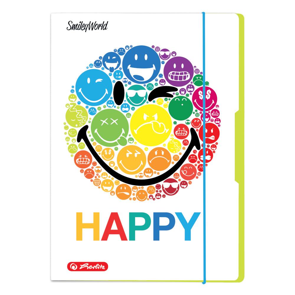 Herlitz Sammelmappen Din A3 Smiley World Rainbow Ebay