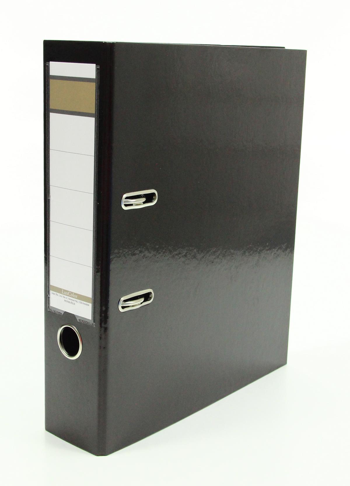 10x Livepac Caribic Glanz Ordner Din A4 75mm Breit Farbe
