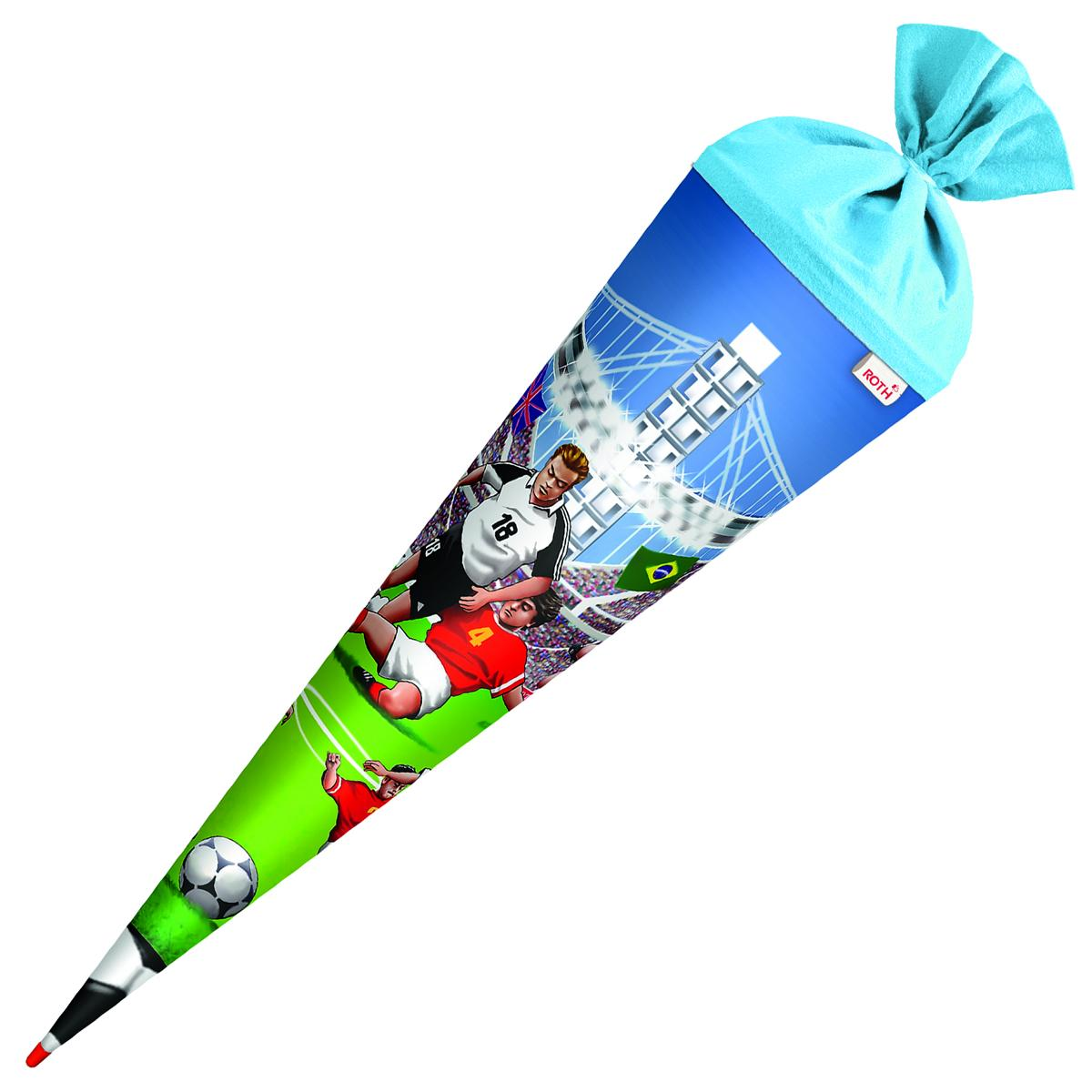 Schultute Zuckertute 70cm Rund Fussball Ebay