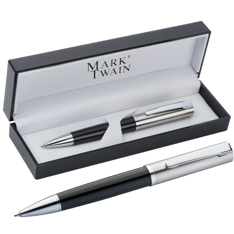 Hochwertiger Kugelschreiber Mark Twain In Ansprechende