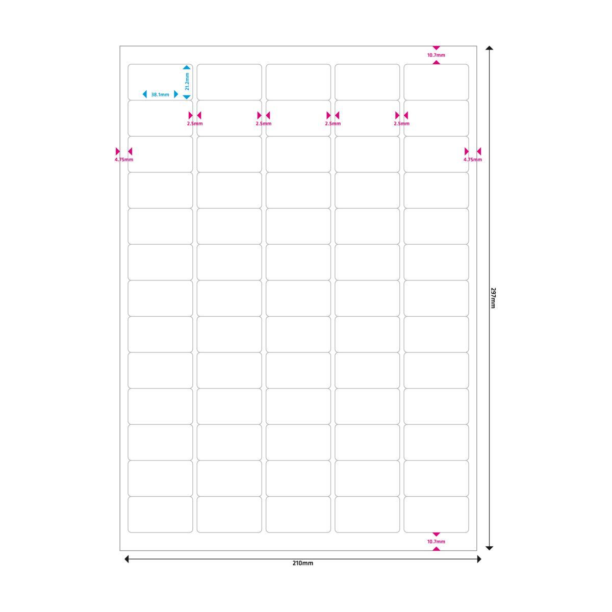 20 Blatt Alphabet A-Z Etiketten 280 Buchstaben-Sticker