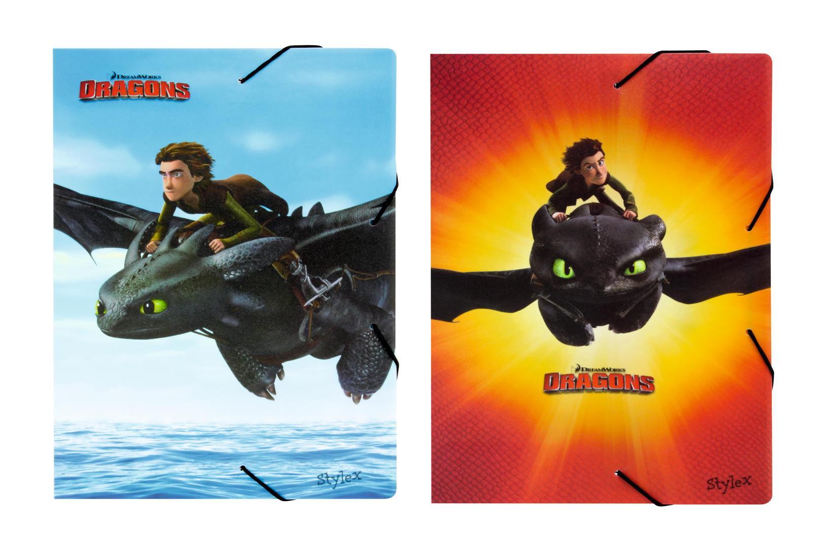 2x Dragons Heftbox Din A4 Aus Pp 2 Verschiedene Motive Ebay